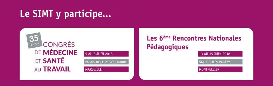 En juin, le SIMT participera à deux événements autour de la santé au travail:  Le Congrès National de Médecine et Santé au Travail : Cette année, c'est à Marseille […]